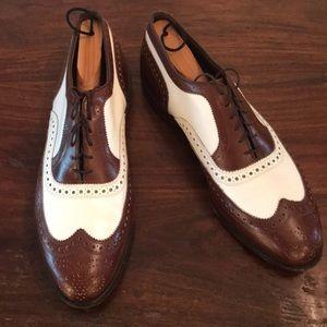 Men's dress shoes.